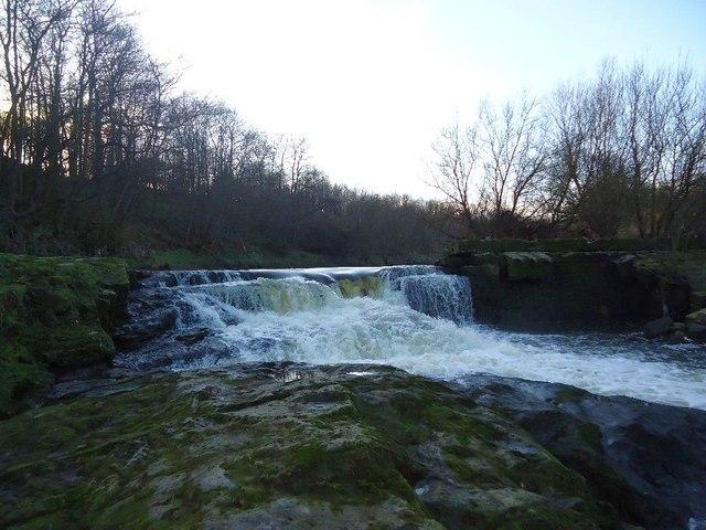 River Carron, Larbert Weir (Ruin) [2]