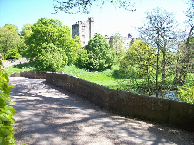 Approach to Haddon Hall