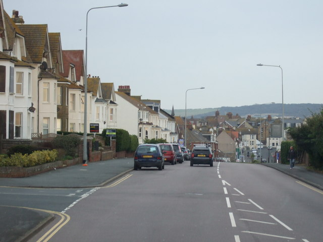 Claremont Road (A259), Seaford