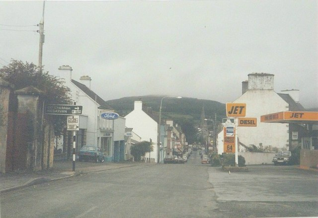 Henry Street, Kenmare in 1985