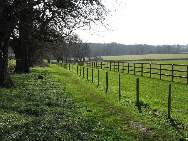 A footpath from Long Newton