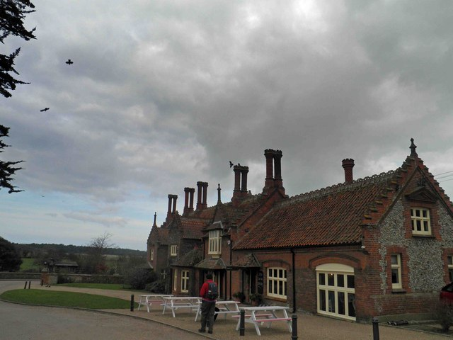 Café at Holkham village