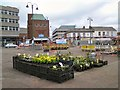 SJ9494 : Hyde Market ground by Gerald England