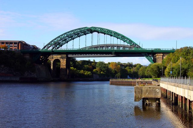 The Wearmouth Bridge in Sunderland