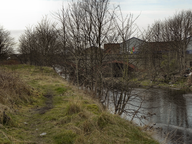 River Irwell, Warth