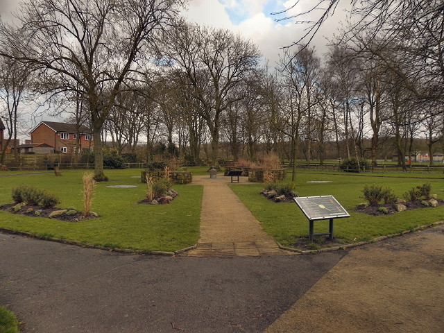 The Sensory Garden at Close Park