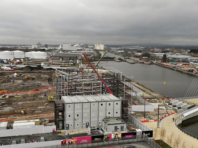 ITV Studios Construction Site, Trafford Wharf