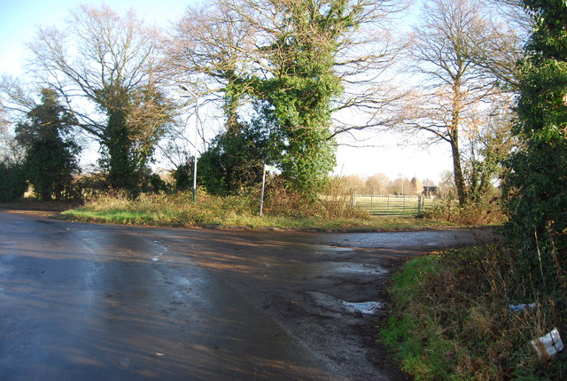 Lydd Farm turn, Sychem Lane