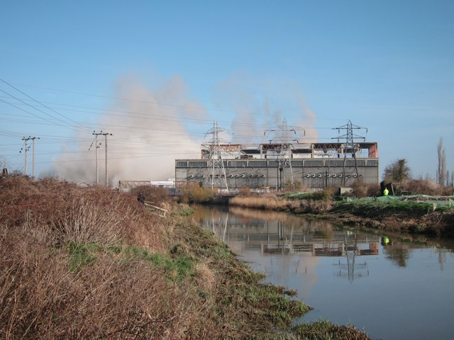 Demolition of Richborough Towers 10