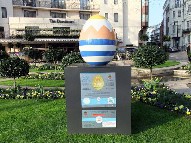 Egg 129 in The Faberg&eacute; Big Egg Hunt