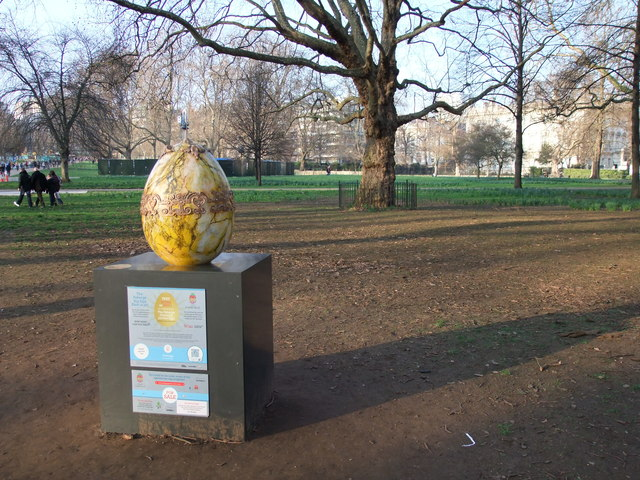 Egg 87 in The Fabergé Big Egg Hunt