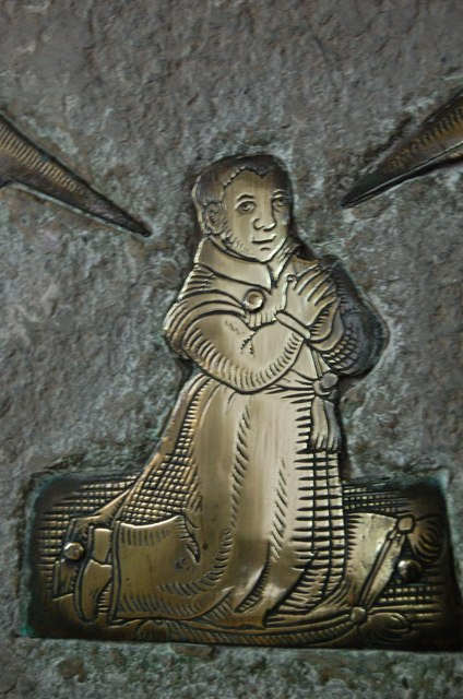 Detail of Brass to Thos. Pye's Son, Brightling church
