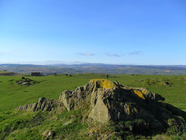 The summit of Disgwylfa