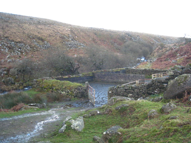 Sheepfold in the Taw Valley