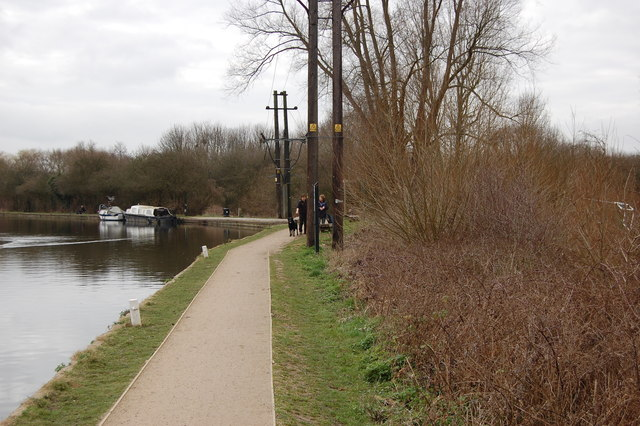 River Lee Navigation tow path