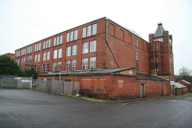 Number 3 Mill, Vine Mills, Oswaldtwistle