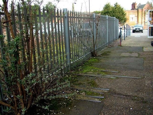 End of the line, Bury St. Edmunds station