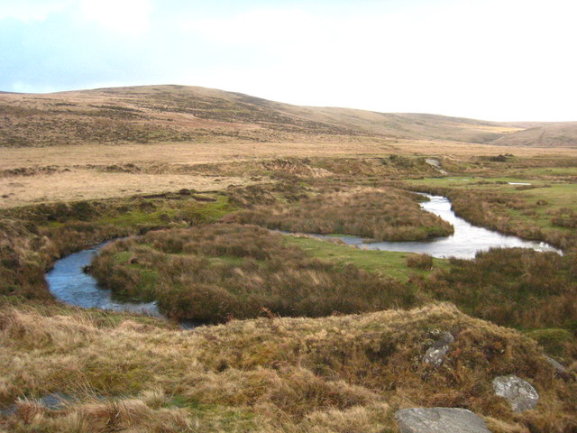 Meanders on the River Taw below Taw Marsh