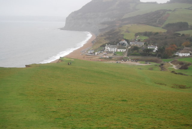 South West Coast Path into Seatown