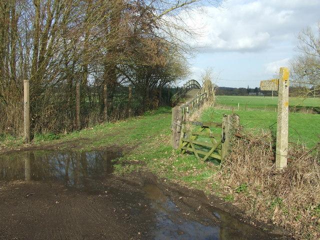 Footpath And Footbridge