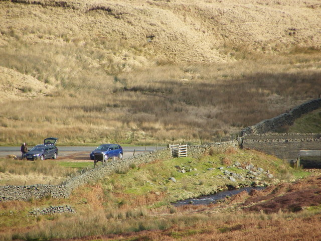 Car Park - Cross of Greet Bridge - Bowland Fells