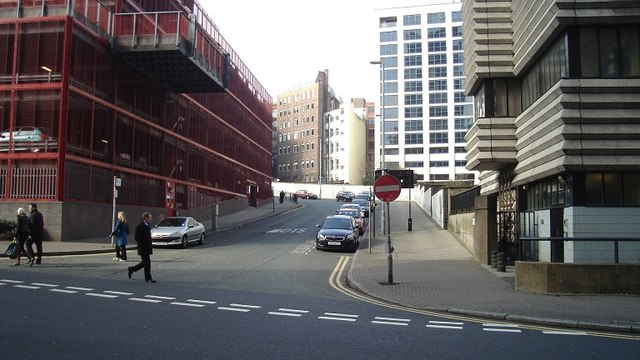 Brunel Street, Birmingham City Centre