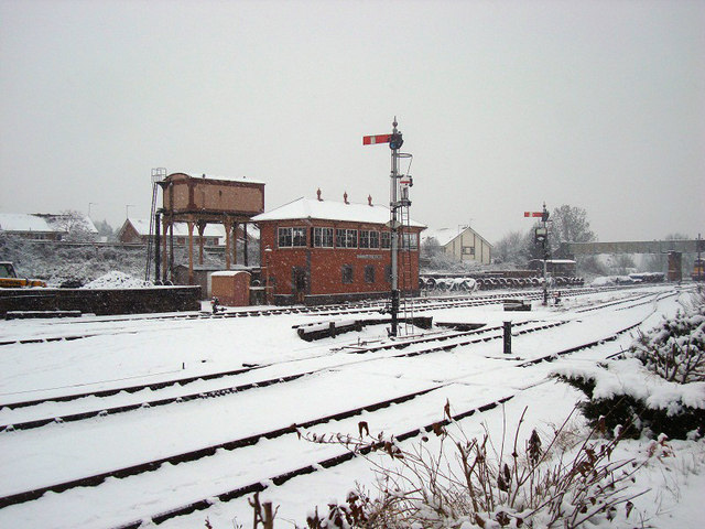 Kidderminster Town Station Signal Box