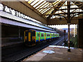 SD9926 : Ex London Midland Sprinter at Hebden Bridge station by Phil Champion