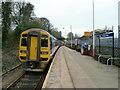 SE2208 : Denby Dale railway station by Graham Hogg