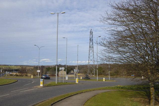 A947 Roundabout, Dyce