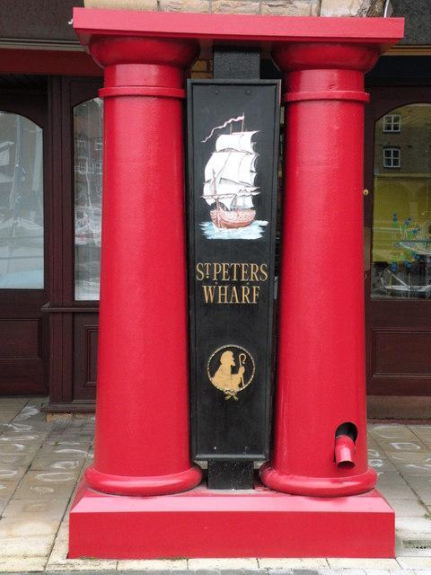 St Peter's Wharf branding