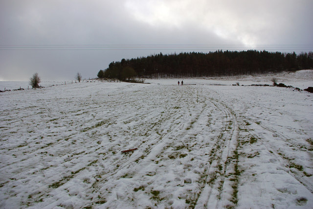 Sledging at Daisy Bank, Mytholmroyd