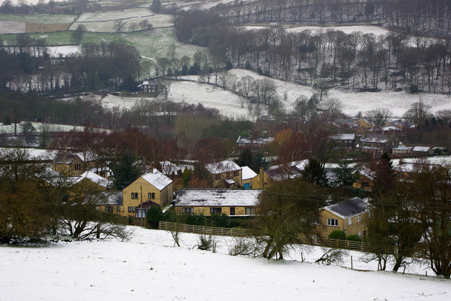 Houses at Coiners Fold, Mytholmroyd