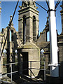 SP2864 : Roof of St Mary's Church tower by Robin Stott