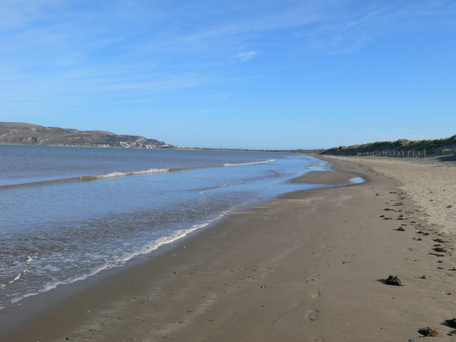 The North Wales Coast between Penmaen Bach and the Conwy estuary