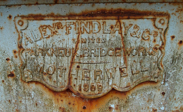 Manufacturers Plate, Gadgrith Bridge