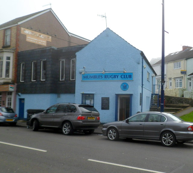 Mumbles Rugby Club clubhouse, Swansea