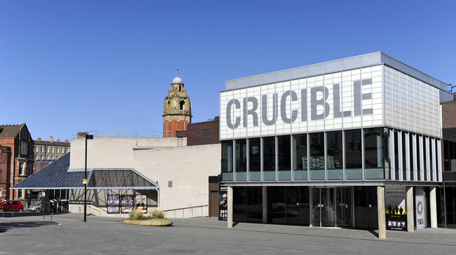 The crucible theatre sheffield peter tarleton for The sheffield