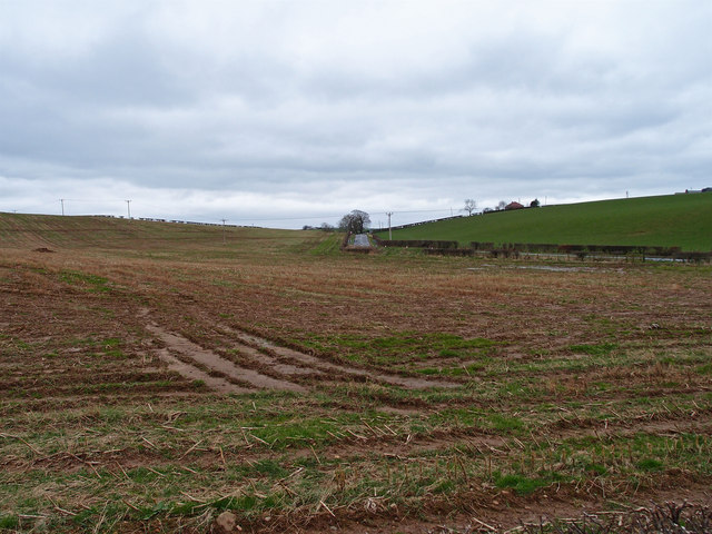 Stubble Field near Wrighthill Farm