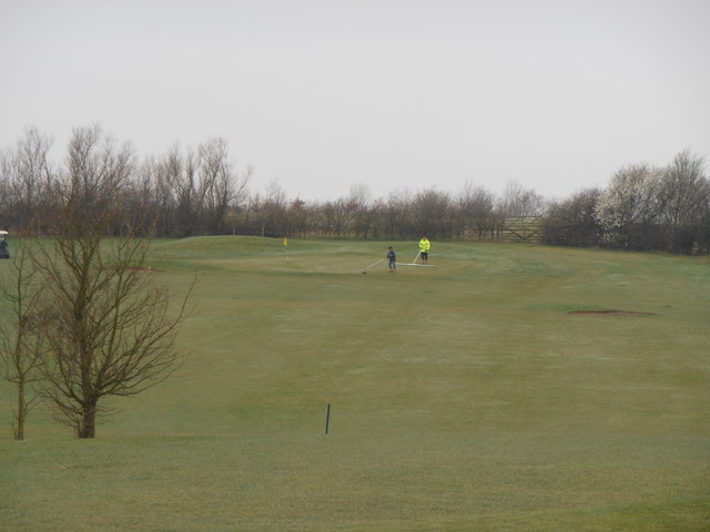 4th Fairway Rother Valley G.C.