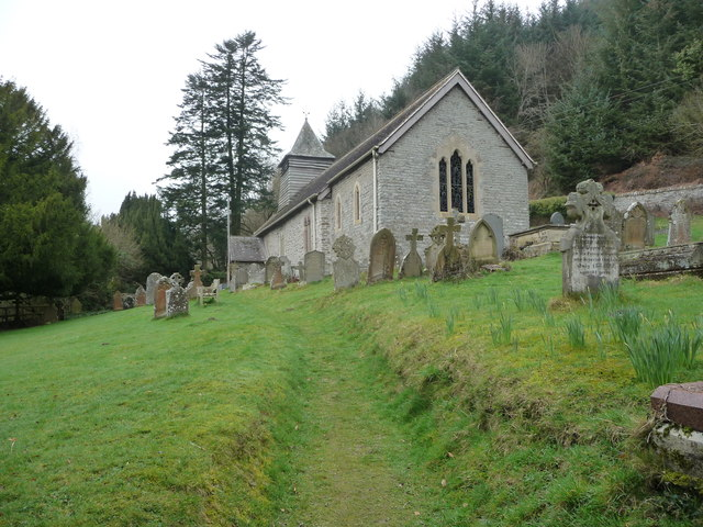 St. Michael's church, Stowe, Shropshire