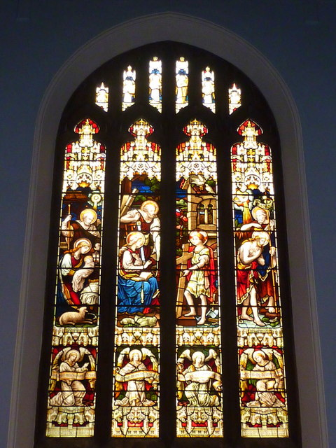 East window of the Holy Trinity Church, Bellevue Road, Ramsgate
