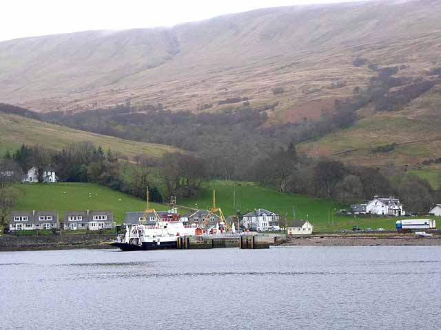 Colintraive and the Bute ferry