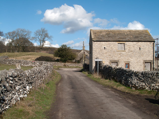 Barn at south end of Grindlow