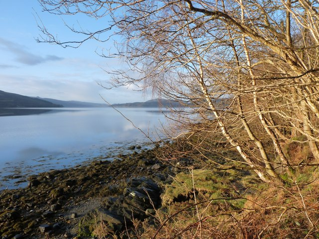 A fine morning on Loch Fyne