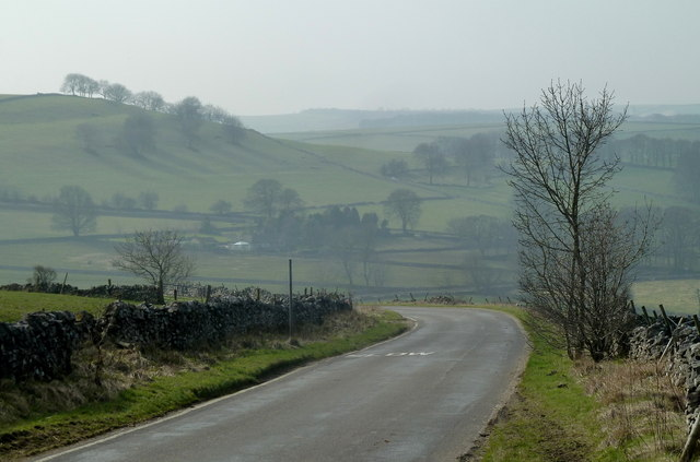 Lane near Chelmorton
