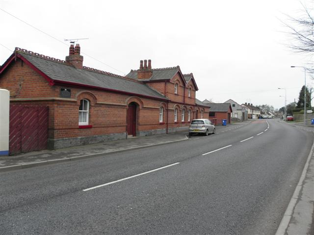 Fivemiletown former Railway Station