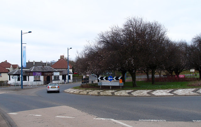 Dovecothall Roundabout, Barrhead