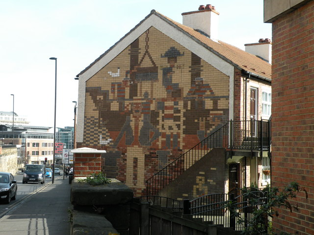 Mural, Sallyport Crescent