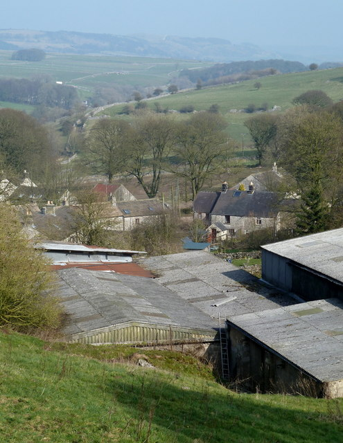 Overlooking Taddington